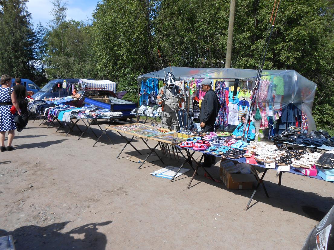 Turg Ladoga ääres