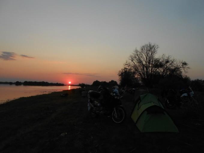 Neljanda õhtu päikeseloojang